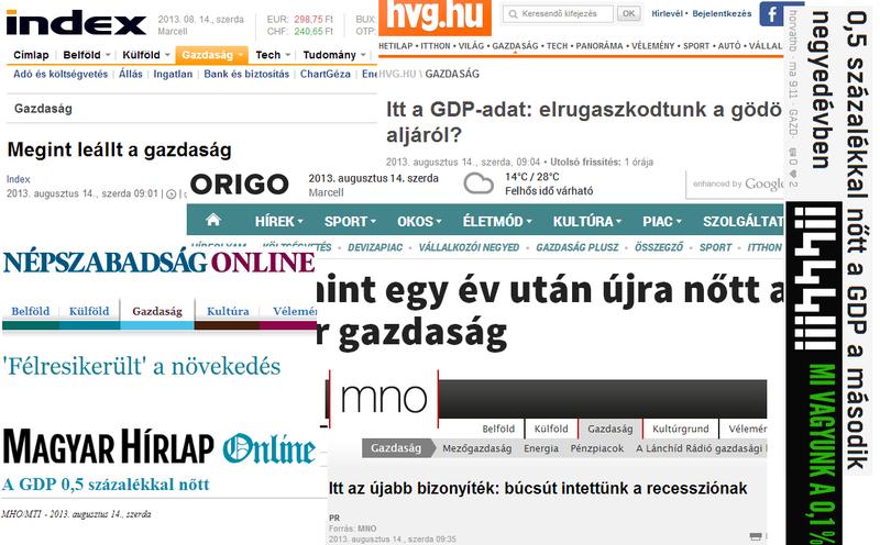 Illustration for article titled Vége a recessziónak, hurrá, leállt a magyar gazdaság!