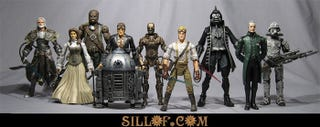 Illustration for article titled Star Wars Action Figures Stoke the Steampunk Fire