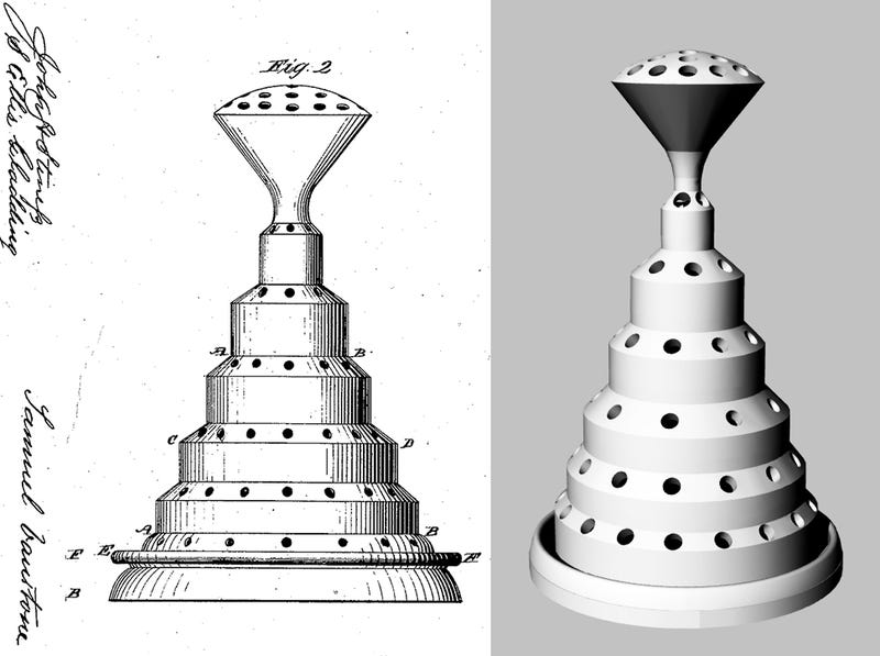 Illustration for article titled One Man Is Resurrecting Forgotten Patents of Yore With 3D Printing