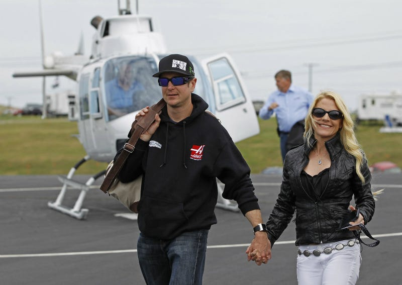 Illustration for article titled NASCAR Driver Kurt Busch Claims Ex-Girlfriend Is a Trained Assassin