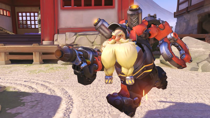 Illustration for article titled Overwatch Finally Reveals What Torbjorn's Much-needed Overhaul Will Look Like