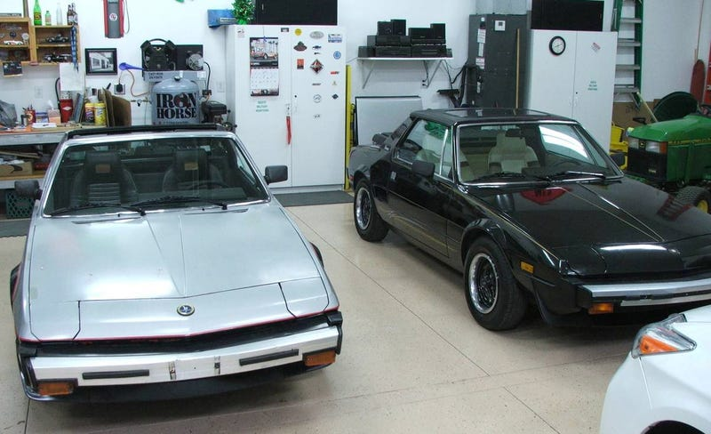 Illustration for article titled At $5,700 For Both, Would You Go For This Fiat X1/9 Targa Two-fer?