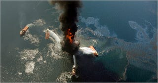 """Illustration for article titled """"Critical Alarm System"""" Turned Off Before Deepwater Horizon Gulf Oil Explosion"""