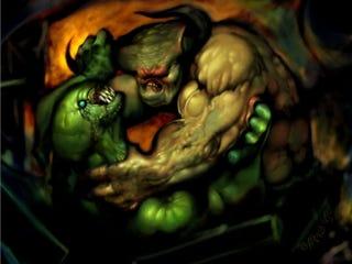 Illustration for article titled Monster Fight!!!