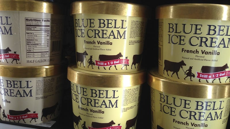 Illustration for article titled Blue Bell Recalls Every Last Bit of Its Ice Cream Over Listeria Fears