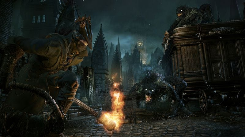Illustration for article titled A Dark Souls expert does a deep dive into From Software's next game, Bloodborne