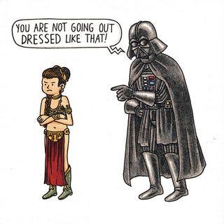 Illustration for article titled Taken from Vader's Little Princess