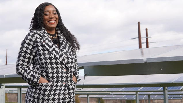 Kristal Hansley Wants to Empower Black Baltimore With Solar Energy
