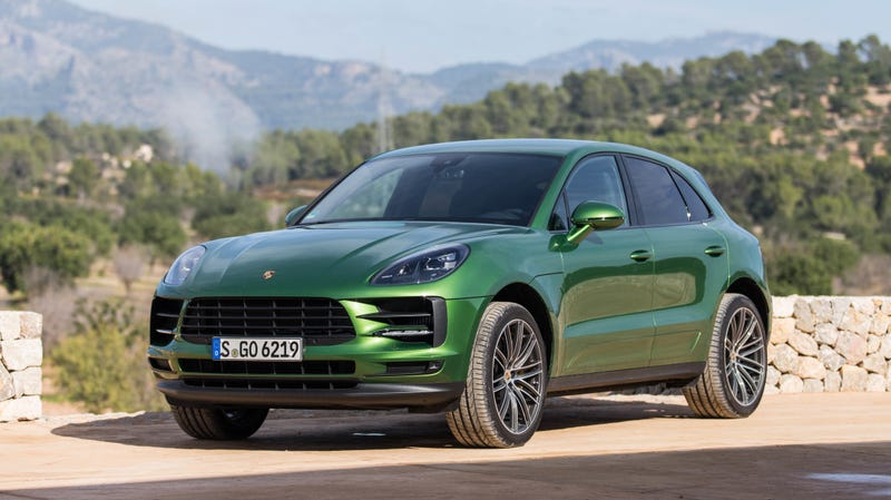 Pictured: a regular Macan