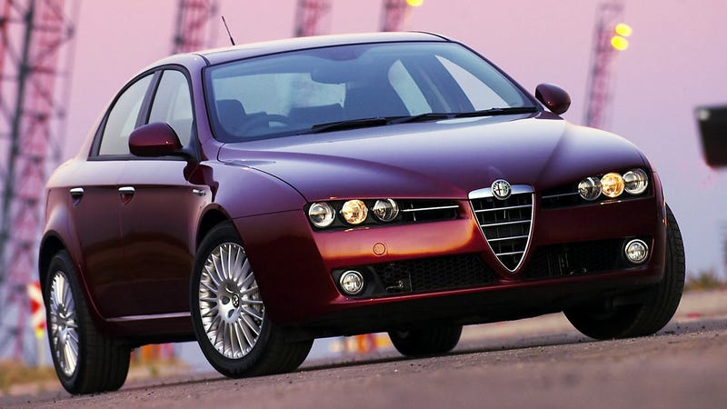 Illustration for article titled Let Us Bestow A Thousand Blessings On The Beautiful Alfa Romeo 159