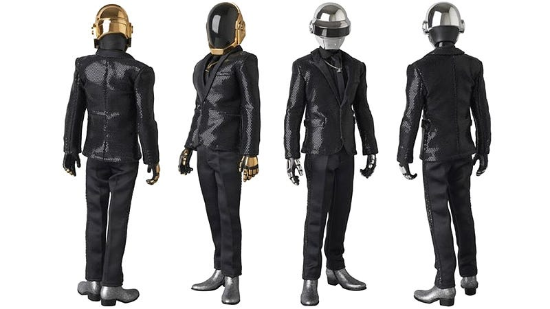 Illustration for article titled At Least Random Access Memories Means We Get New Daft Punk Figures