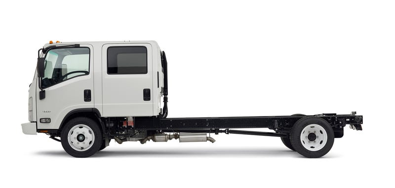 Illustration for article titled This Flat-Faced Utility Truck Is Goddamn Beautiful