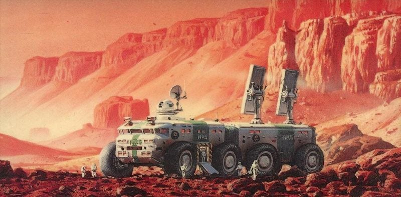 Illustration for article titled The Director of Children of Dune Will Helm Spike TV's Red Mars Adaptation