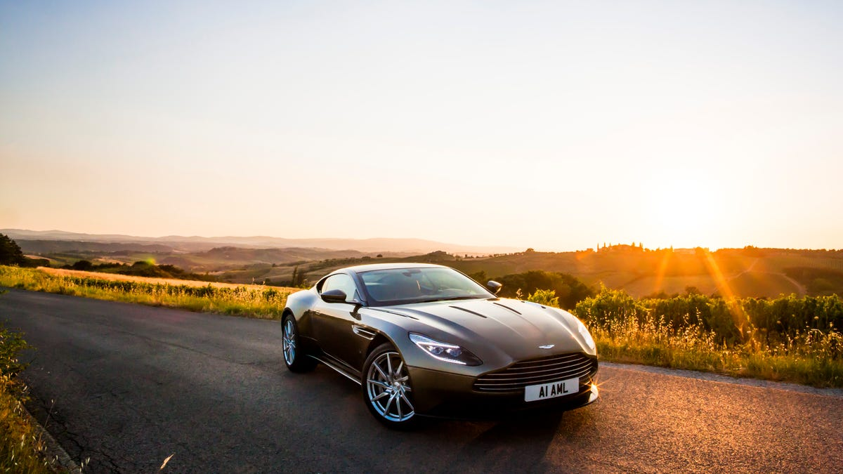 Why Aston Martin Thinks EVs And Manual Transmissions Can Both Be Its Future