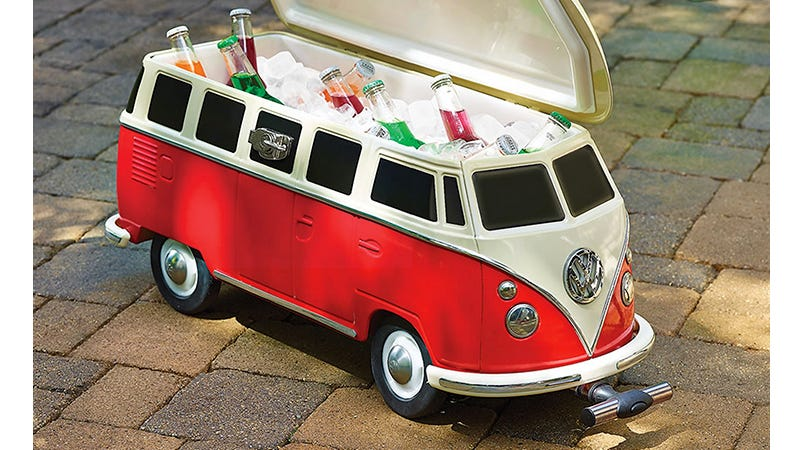59180b6e86 Fill This Volkswagen Van Cooler With Snapple and Other Hippy Drinks