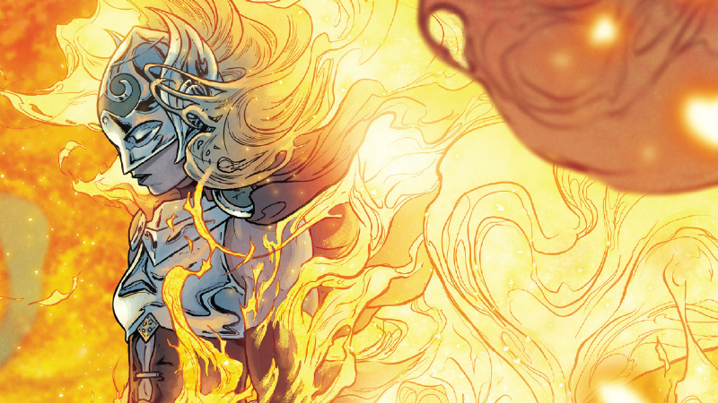 Jane Foster, at the end of everything in The Mighty Thor #705.