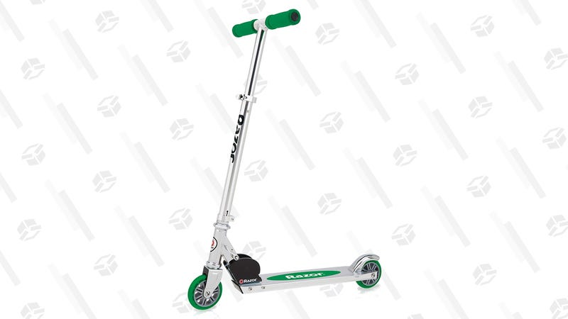Razor A Kick Scooter (Green) | $25 | Amazon