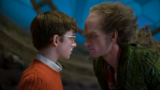 a series of unfortunate events theme song implores you to not watch the show
