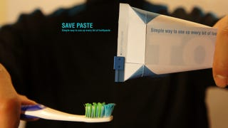 Illustration for article titled I Hope Colgate Sees This Clever Toothpaste Tetra Packaging