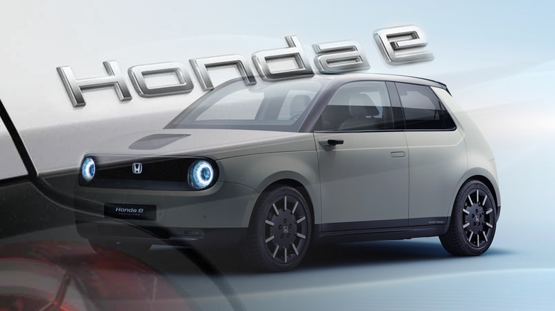 Illustration for article titled Honda Efficiently Names Its New Electric Car with Just One Letter