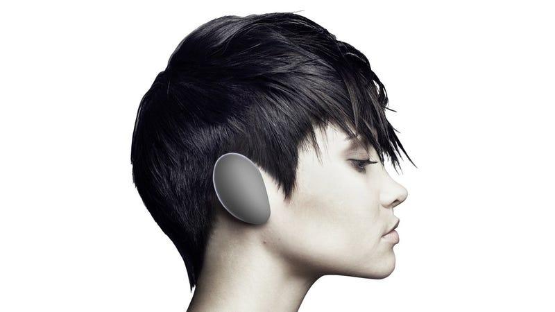 Illustration for article titled Estos extraños auriculares inalámbricos también funcionan como altavoces portátiles