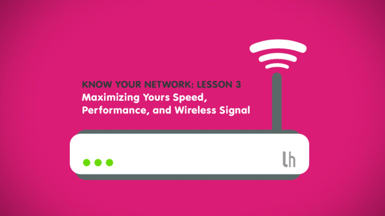 Know Your Network Lesson 3 Maximize Speed Performance And Wiring An Ethernet Jack Is Actually Much Easier Than Making A Wireless Signal