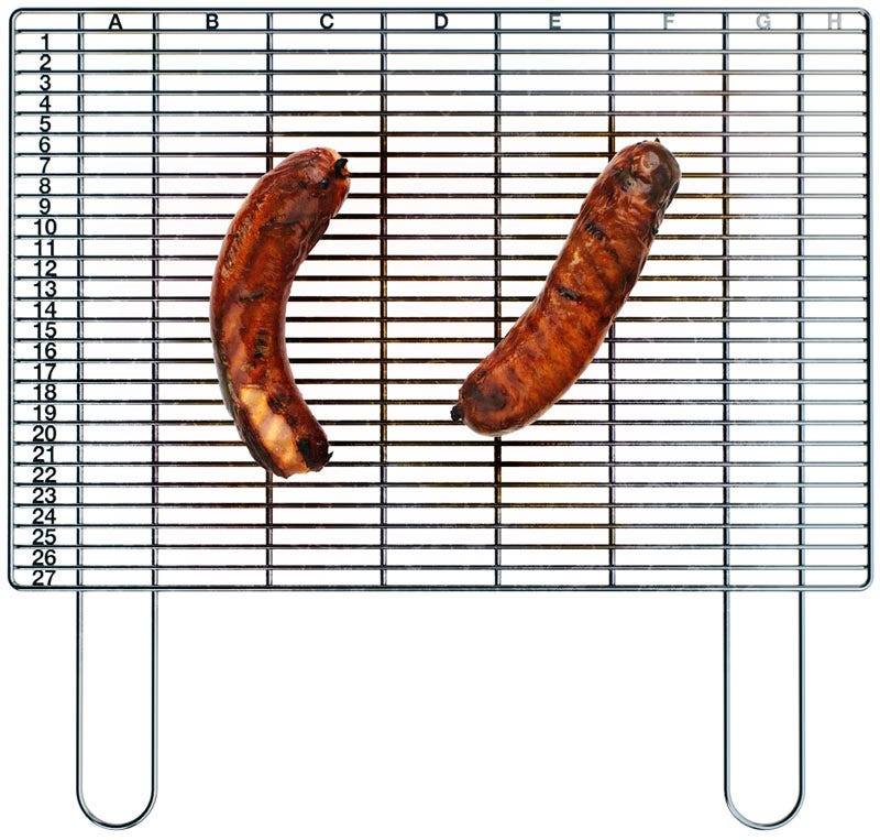 Illustration for article titled Gridus BBQ Grill Finds The Best Piece Of Meat With Excel Spreadsheets