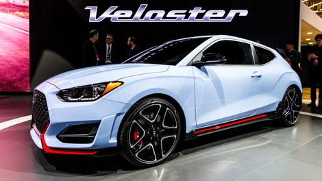 The 2019 Hyundai Veloster N's Exhaust Actually Sounds Pretty