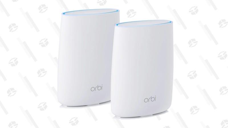 Refurbished Netgear Orbi Whole Home Mesh Wi-Fi System (RBK50) | $180 | Woot