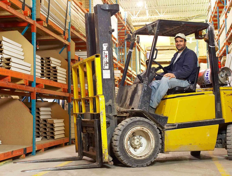 Illustration for article titled Smooth Operator Also Forklift Operator