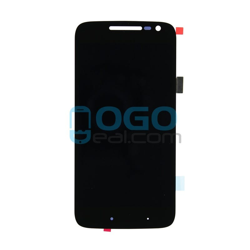 Illustration for article titled LCD & Digitizer Touch Screen Assembly Replacement for Motorola Moto G4 Play - Black