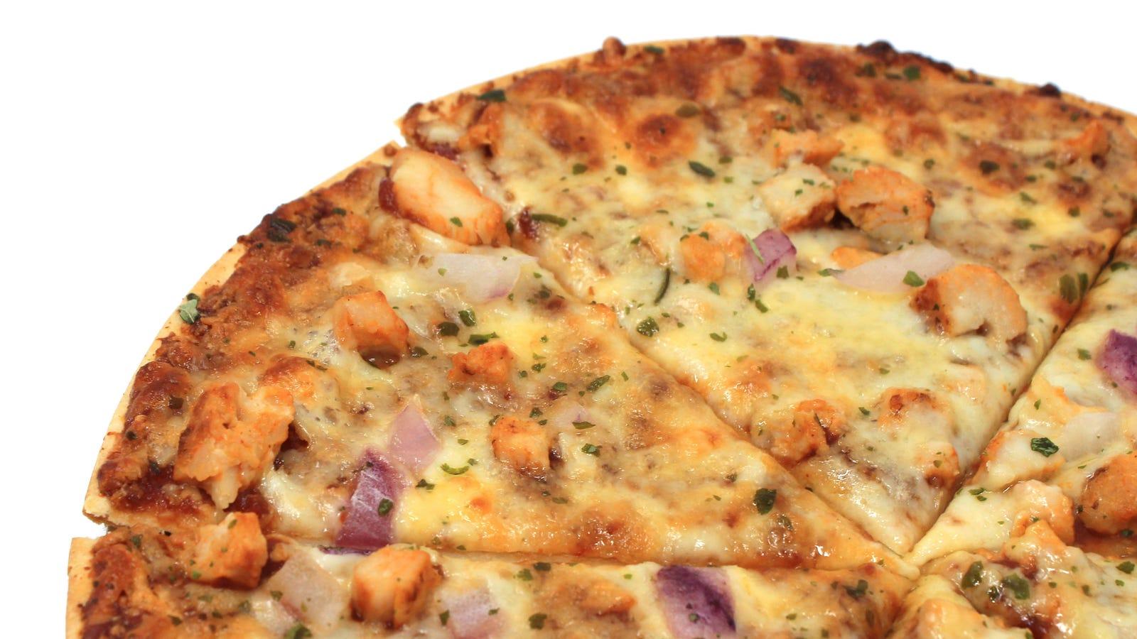 California Pizza Kitchen Frozen Bbq Chicken Pizza Calories