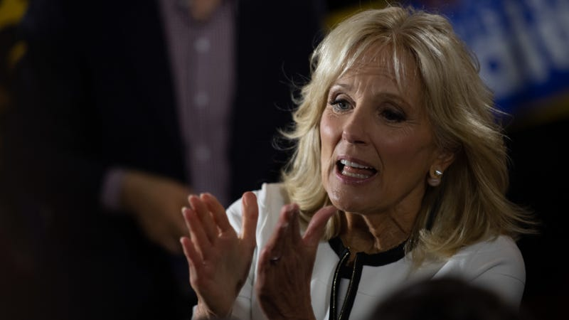 Illustration for article titled Jill Biden Is Begging You to Hold Your Nose and Vote for Her Husband