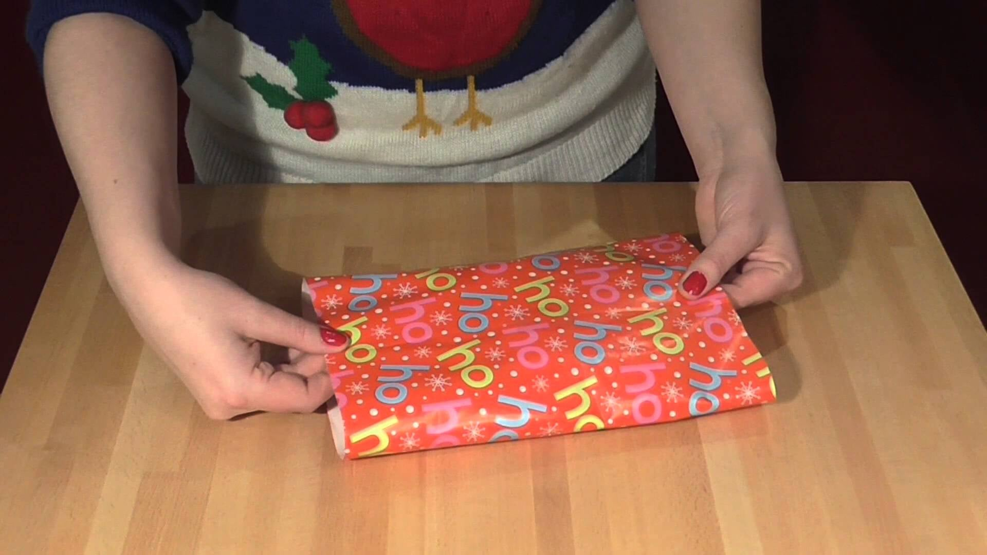 the mathematical way to wrap presents of various shapes