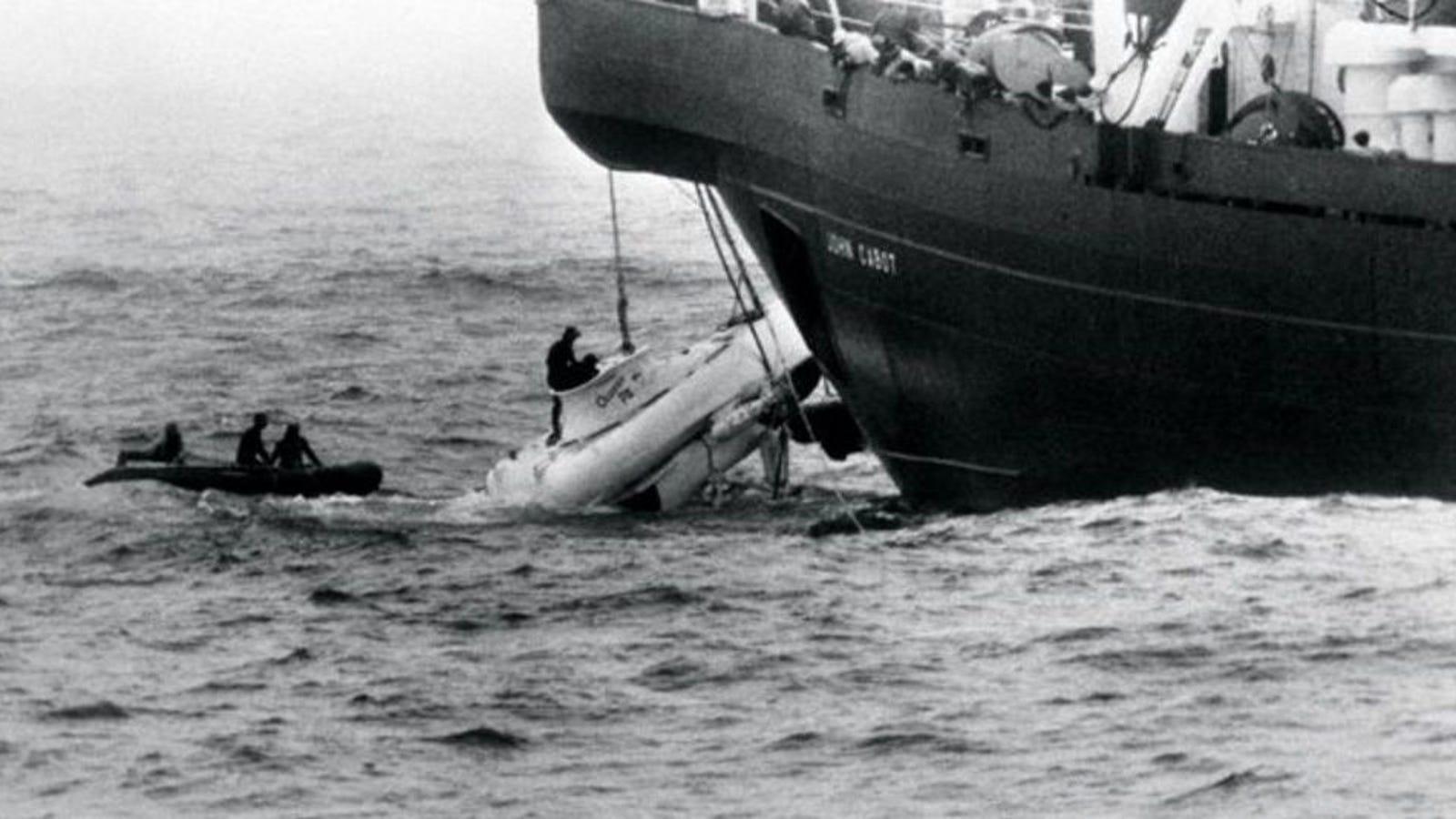 """""""Nos quedan 66 horas de vida y estamos a 500 metros de profundidad"""": el asombroso rescate del Pisces III"""