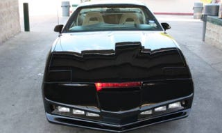 Illustration for article titled Fulfill Your 80s Firebird Fantasizes With This KITT Replica