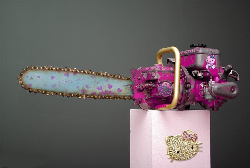 Illustration for article titled The Hello Kitty Chainsaw Massacre