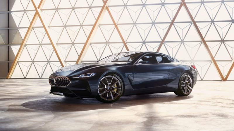 Illustration for article titled This Is The New BMW 8 Series Concept In All Its Glory