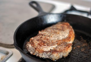 Cook a Great Steak in the Oven, Skip the Freezing Temperatures Outside