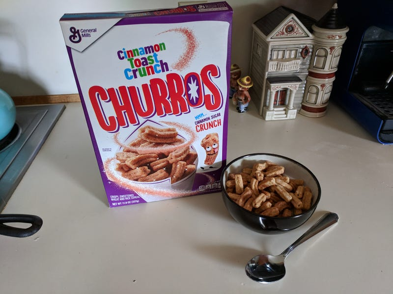 Illustration for article titled Cinnamon Toast Crunch Churros: The Oppositelock Review