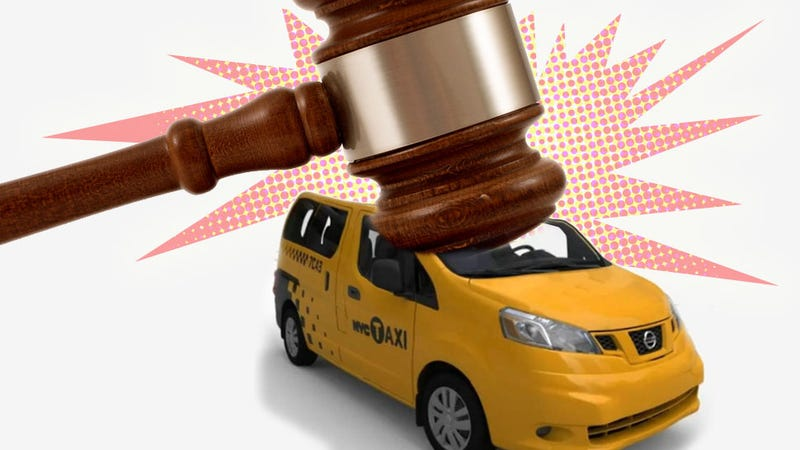 Illustration for article titled Nissan's Taxi Of Tomorrow Slammed By Manhattan Judge