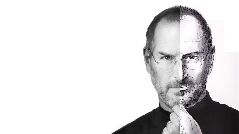 Illustration for article titled Así es la biografía de Steve Jobs... en manga