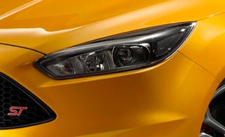 Illustration for article titled The only image we've got of the refreshed 2015 Focus ST