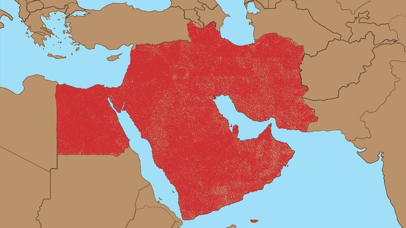 Everyone In Middle East Given Own Country In 317000000State Solution