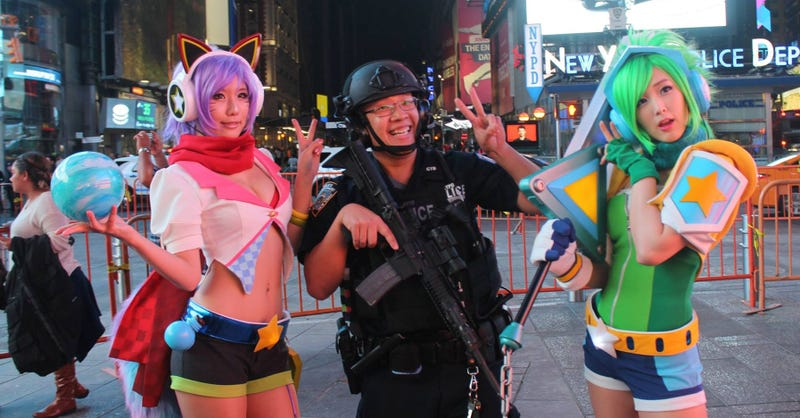 Illustration for article titled The Cosplay Police Seem Awfully Chill