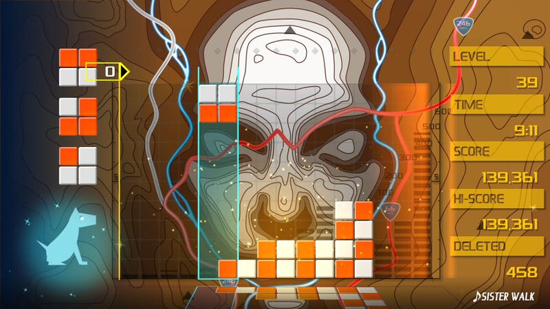 Illustration for article titled Lumines belongs in the pantheon of all-time great puzzle games