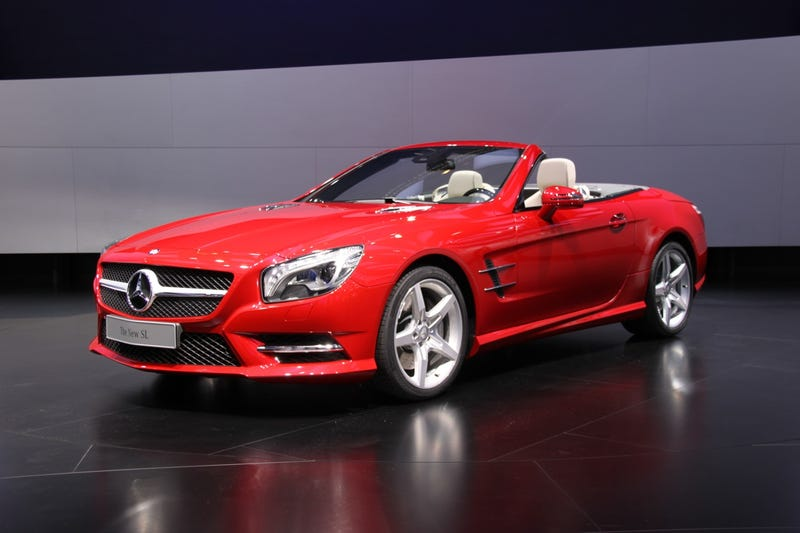 Illustration for article titled 2013 Mercedes-Benz SL: Detroit Auto Show Live Photos