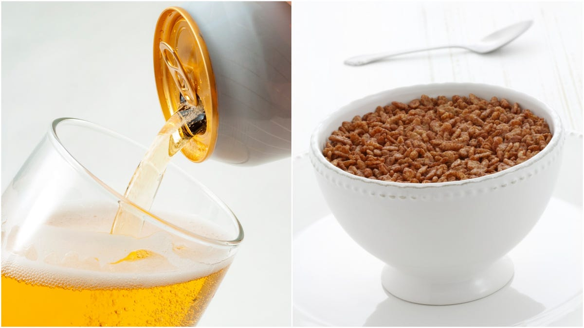 More less-than-perfect Kellogg's cereals find second life as beer