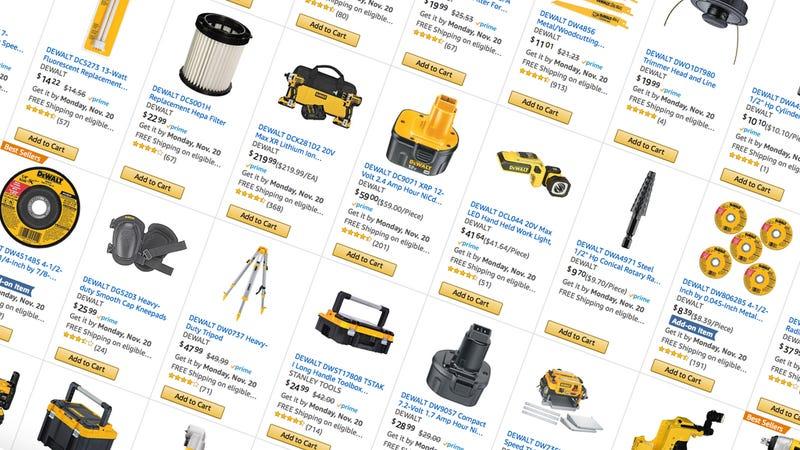 $25 off $100 DEWALT Purchases | Amazon