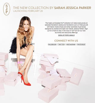 Illustration for article titled Pedi Alert: Sarah Jessica Parker's Shoe Collection Debuts in One Month